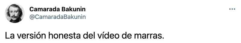 "Vídeo viral ""sin ninguna ideología política"""